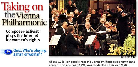Headline: Taking on the Vienna Philharmonic